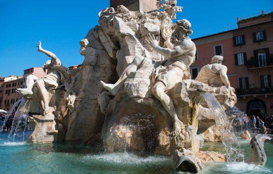 Fontana dei Quattro Fiumi - Gian Lorenzo Bernini