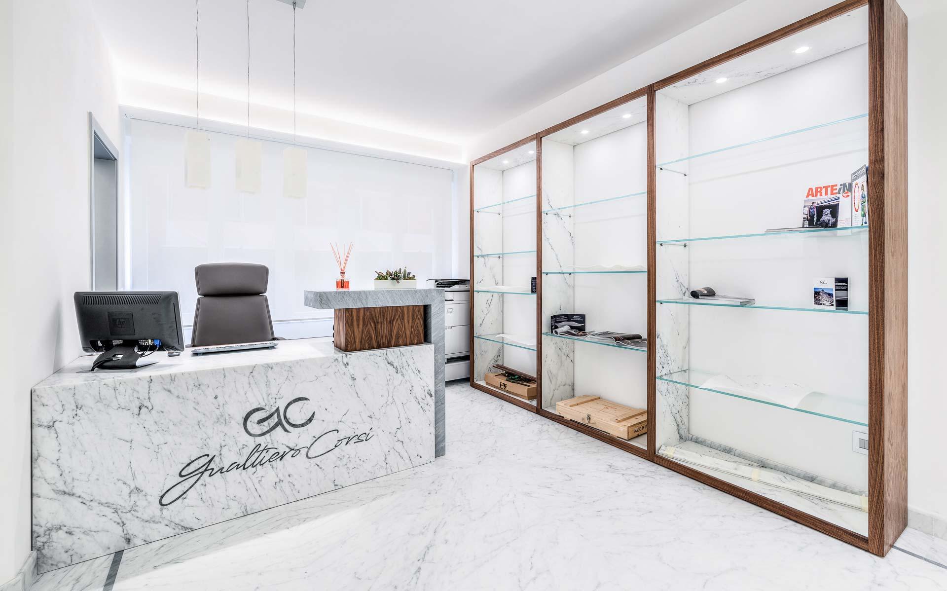 vendita marmo bianco di di carrara Gualtiero Corsi Srl